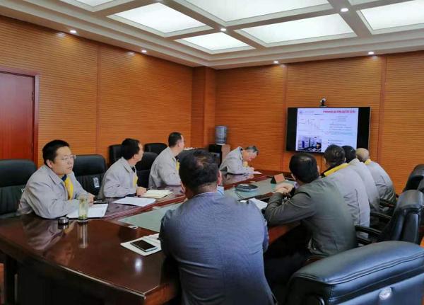 北京交通大学老师来实验室进行技术交流